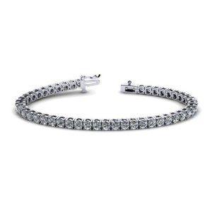 Brilliant cut 5.40 carats round diamonds Tennis br